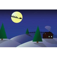 """""""Рождественская ночь"""". Дизайн: Still Hobby"""