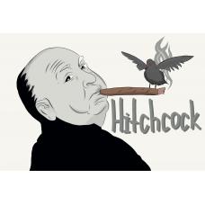 """Альфред Хичкок"". Дизайн: Still Hobby"