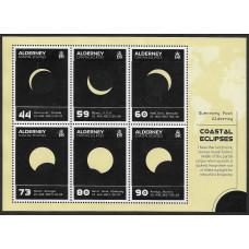 Олдерни. Солнечное затмение 21 августа 2017 года. Блок