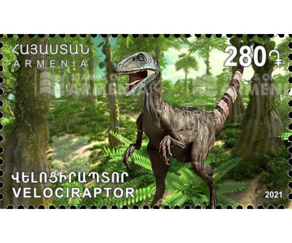 Армения. Динозавры. Велоцираптор и Титанобоа. Серия