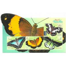 Австралия. Бабочки. Блок