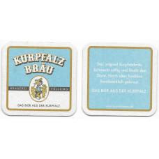 """Бирдекель """"Kurpfalz bräu"""""""