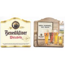 """Бирдекель """"Benediktiner Weissbräu"""""""