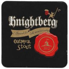 "Бирдекель ""Knightberg OatMeal Stout"""