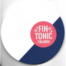 "Бирдекель ""FIN TONIC. FINLANDIA"", из дерева. Тип I"