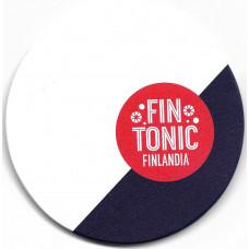 "Бирдекель ""FIN TONIC. FINLANDIA"", из дерева. Тип II"