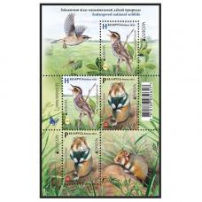 Белоруссия. Национальная дикая природа. Исчезающие виды животных. Малый лист