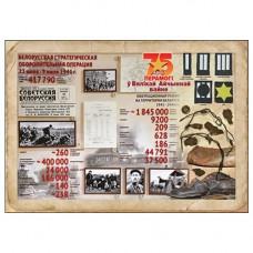 Белоруссия. 75 лет победы в Великой Отечественной войне. Немаркированная почтовая карточка (тип III)
