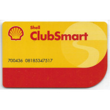"Пластиковая карта ""Shell Club smart 2014"""