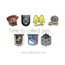 """Карманный календарик """"Still Hobby. Time to collect pins..."""""""