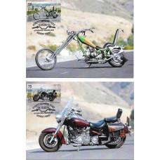 Киргизия. Мотоциклы. 4 картмаксимума