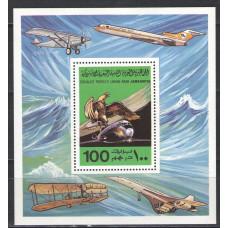 Ливия. 75-летие первого полета братьев Райт. Блок