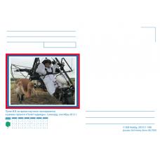"""""""Путин В.В. во время научного эксперимента в рамках проекта """"Полёт надежды"""". Дизайн: Still Hobby"""