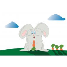 """""""Голодный кролик"""". Дизайн: Still Hobby"""