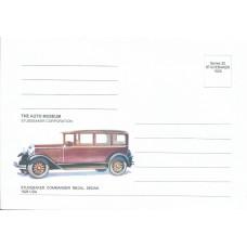 """Набор из 9 немаркированный конвертов """"The Auto museum. Studebaker Corporation"""""""