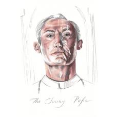 """Авторская почтовая карточка """"The Young Pope"""""""