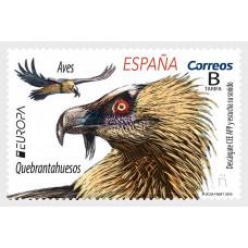 Испания. EUROPA CEPT. Птицы. Марка