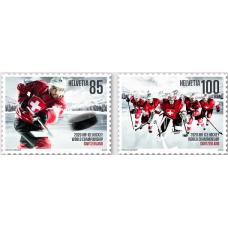 Швейцария. Чемпионат мира по хоккею в Швейцарии. Сцепка