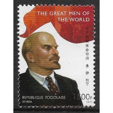 Того. Великие люди. В.И. Ленин. Марка