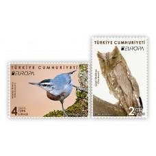 Турция. EUROPA CEPT. Птицы. Серия